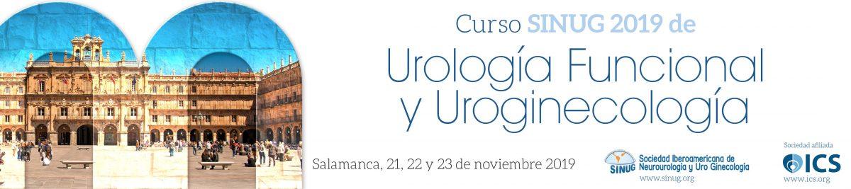 Curso SINUG 2019 de Urología Funcional y Uroginecología